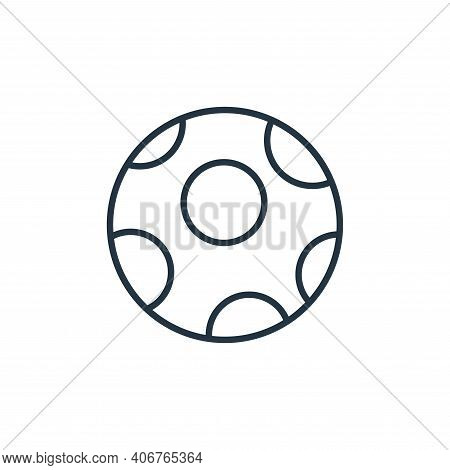 moon icon isolated on white background from space collection. moon icon thin line outline linear moo