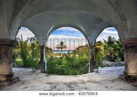 Beach Front Mansion