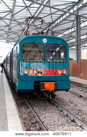 Train in the station