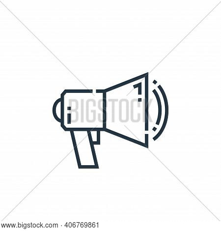 marketing icon isolated on white background from marketing collection. marketing icon thin line outl