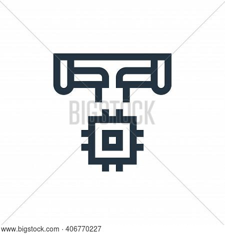manufacture icon isolated on white background from manufacturing collection. manufacture icon thin l