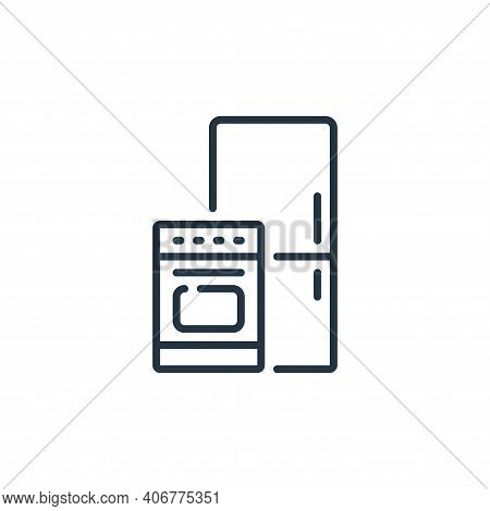 kitchen appliance icon isolated on white background from mall collection. kitchen appliance icon thi