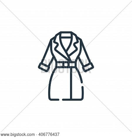 jacket icon isolated on white background from sewing collection. jacket icon thin line outline linea