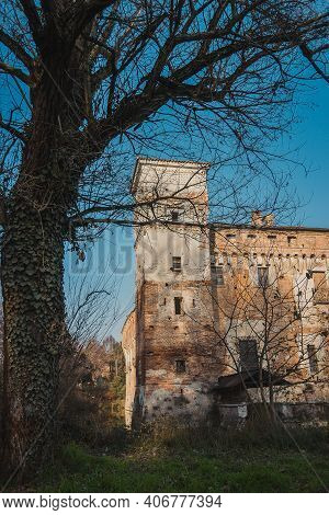 Castello Di Padernello. The Padernello Castle Feels Like Castle Out Of Fairy Tale, With Its Working