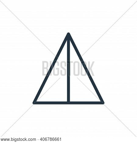 flip icon isolated on white background from photography collection. flip icon thin line outline line