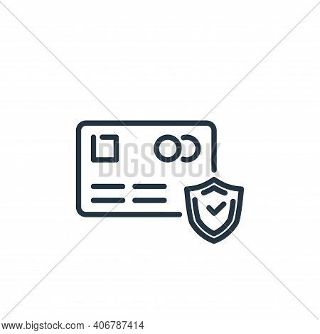 finance icon isolated on white background from insurance collection. finance icon thin line outline