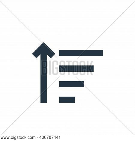 filter icon isolated on white background from user interface collection. filter icon thin line outli