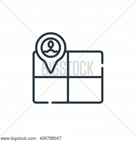 field icon isolated on white background from smart farm collection. field icon thin line outline lin