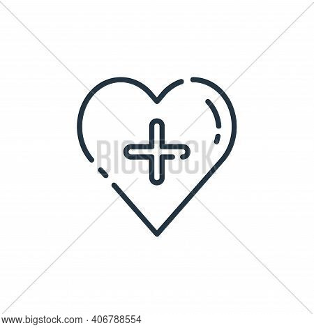 favorite icon isolated on white background from user interface collection. favorite icon thin line o