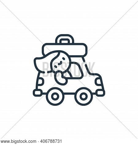 family icon isolated on white background from family life collection. family icon thin line outline