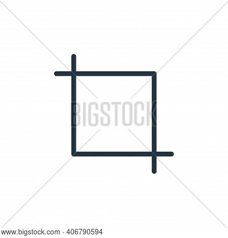 editing icon isolated on white background from photography collection. editing icon thin line outlin