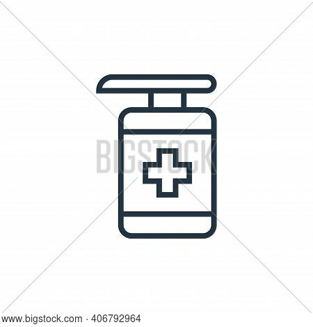 disinfectant icon isolated on white background from pandemic novel virus collection. disinfectant ic