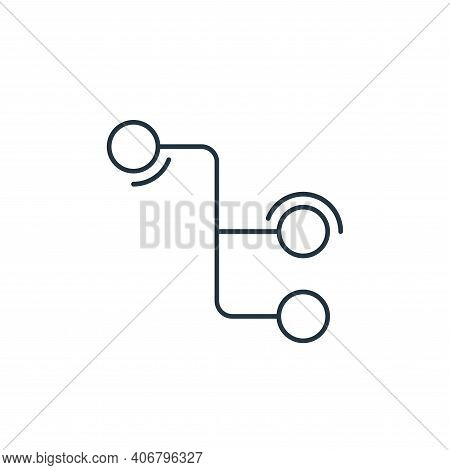 connection icon isolated on white background from network and database collection. connection icon t