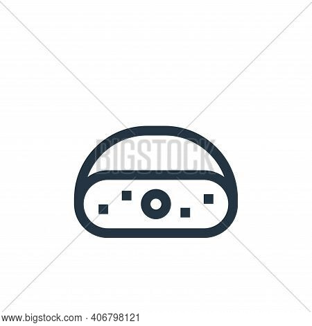 cheese icon isolated on white background from holland collection. cheese icon thin line outline line