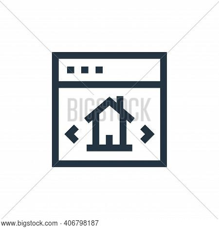 checklist icon isolated on white background from real estate collection. checklist icon thin line ou