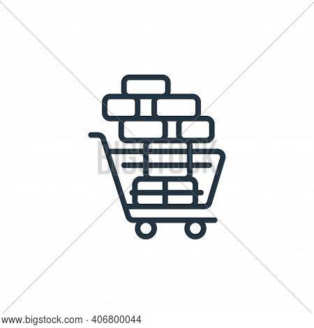 bulk buying icon isolated on white background from self isolation collection. bulk buying icon thin