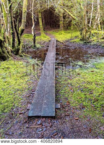 The Beautiful Landscape Of Bonny Glen By Frosses In County Donegal - Ireland