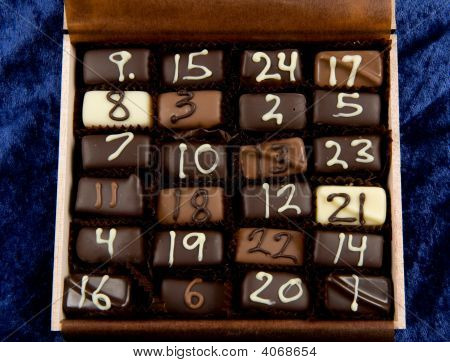 Christmas Calender Of Chocolate