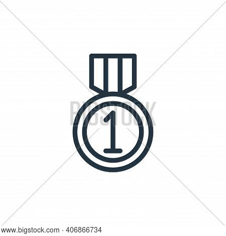 award icon isolated on white background from school collection. award icon thin line outline linear