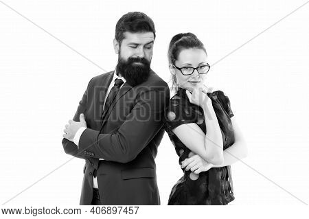 Professional Life Coaching Course. Coaches Or Teachers Isolated On White. Business Coaches. Sexy Wom