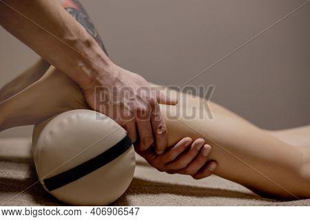 Acupressure, Reflexology. Natural Medicine, Reflexology, Acupressure Foot Massager Oppresses Energy