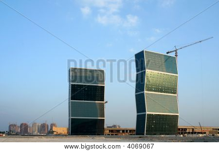Zig-Zag Towers And The Pearl
