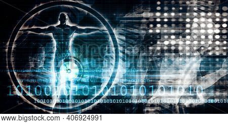 Medical Science Research and Development Abstract Background 3d Render
