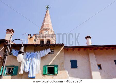 Bell Tower Of The St. Euphemia Basilica, Grado