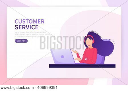 Customer Service. Phone Icon Vector. Customer Day. Telephone Operator. Client Support Online Helplin