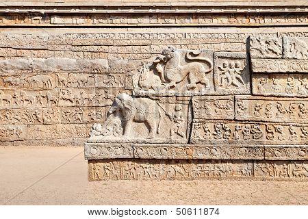 Hindu Temple Detail