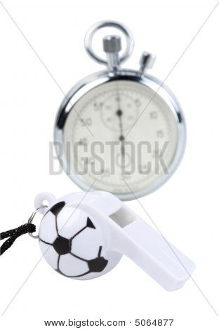 Whistle And Stopwatch