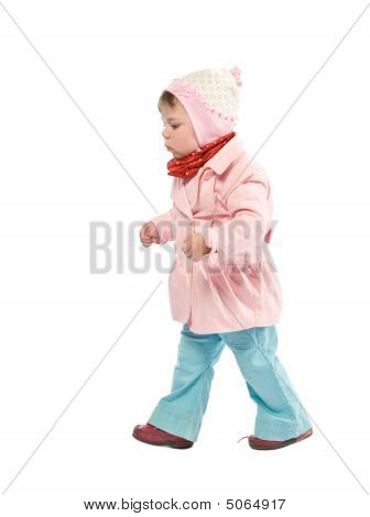 Walking Child