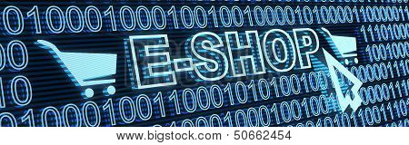 E-shop And Binary Code