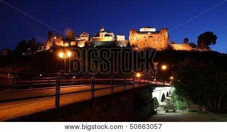 Sanabria on the night. Zamora.