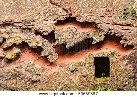 Ethiopia, Lalibela. Moniolitic Rock Cut Church