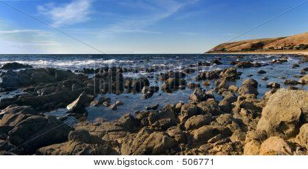 Rocky Seaside Panorama