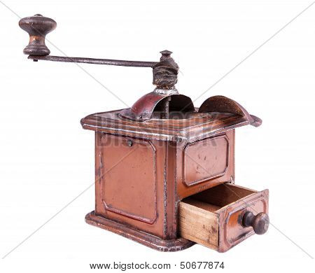 Old-style Coffee Mill