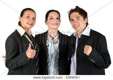 Successful People Team Work