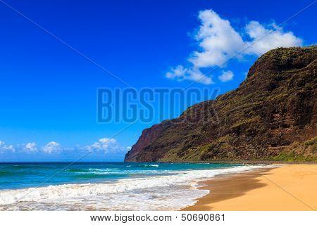 Beautiful Polihale Beach