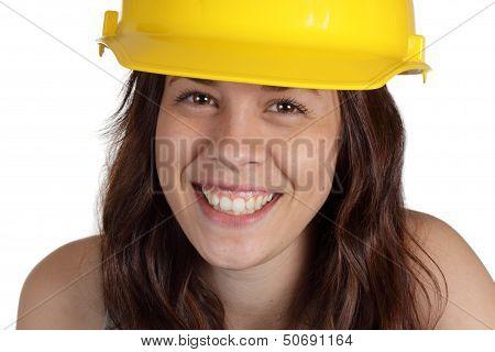 Happy Construction Laborer