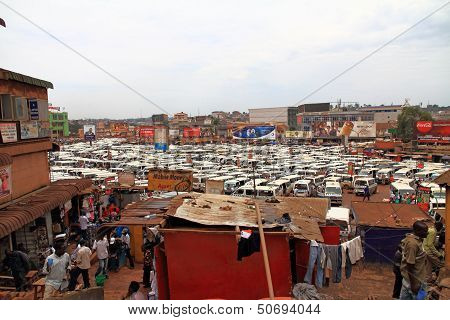 Kampala Taxi Centre And Vendors