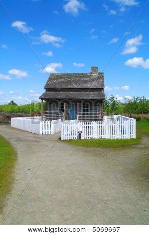 Western Pennsylvania Log House