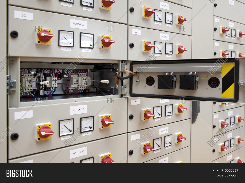 Electrical Panel Board Image Photo Free Trial Bigstock