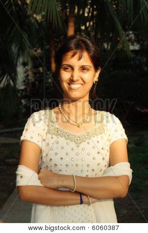 Junge indische Prinzessin
