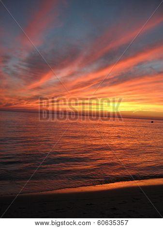 Lake Pontchartrain at Sunset