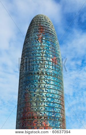 Torre Agbar Skyscraper