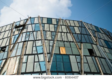 Modern Architecture Exterior View