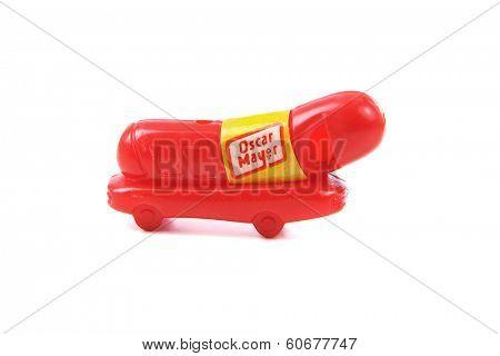 Oscar Mayer Wiener Whistle toy