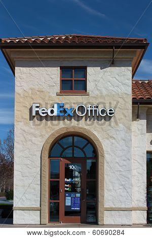Fedex Office Building.