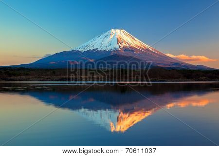 World Heritage Mount Fuji and Lake Shoji